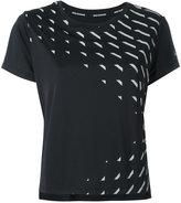 Nike geometric print dri-fit running top - women - Polyester - XS
