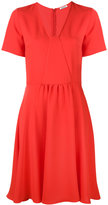 P.A.R.O.S.H. flared V-neck dress - women - Polyester - S