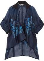 Roland Mouret Albert Oversized Fil Coupé Organza Kimono