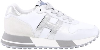Hogan H383 Metallic Panelled Sneakers
