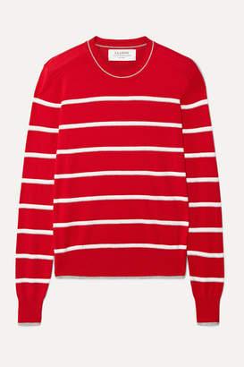La Ligne Neat Striped Cotton Sweater