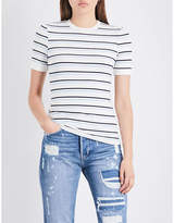Frame Ladies Black Classic Le Original Slim Boyfriend Mid-Rise Jeans