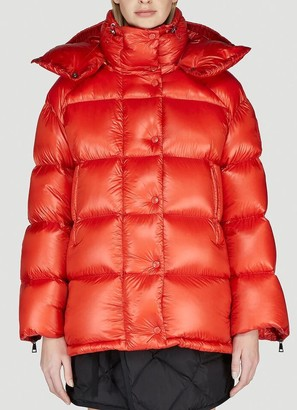 Moncler Oversized Hooded Down Jacket