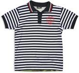 Diesel Boys' Tagix Stripe & Camo Print Polo
