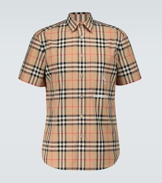 Burberry Coleford short-sleeved shirt
