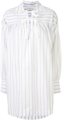 MARK KENLY DOMINO TAN Striped Print Shirt