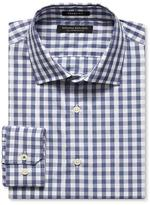 Banana Republic Grant-Fit Supima Cotton Gingham Shirt