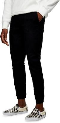 Topman Flannel Skinny Joggers
