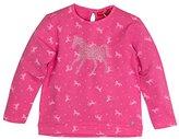 Salt&Pepper SALT AND PEPPER Girl's Horses Allover Sweatshirt