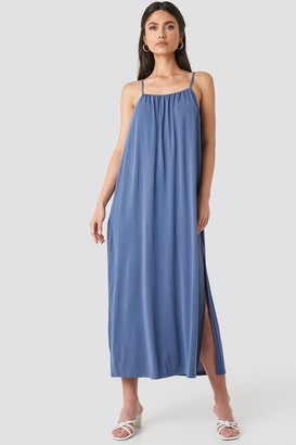 MANGO Cubi Dress Blue