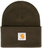 Carhartt logo patch beanie hat