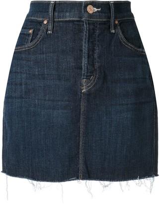 Mother short denim skirt