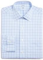 Brooks Brothers Non-Iron Alt Twin Tattersall Classic Fit Dress Shirt