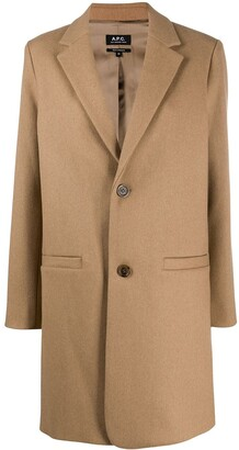 A.P.C. Single-Breasted Coat