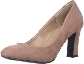 Qupid Women's Low Heel Pump