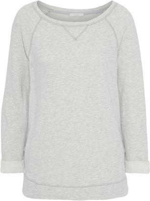 Joie Emma C Melange French Cotton-blend Terry Sweatshirt