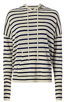 Nili Lotan Hooded Stripe Sweater