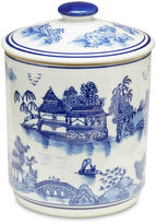 AA Importing Blue Willow Canister w/Lid