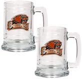 Oregon State Beavers 2-pc. Glass Tankard Set