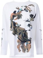 MM6 MAISON MARGIELA printed long sleeve T-shirt