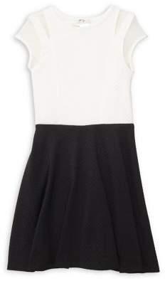 Sally Miller Girl's Mesh Capsleeve Dress