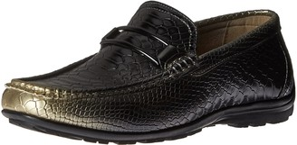 Stacy Adams Men's Lazar - Moc Toe Bit Slip-on Loafer