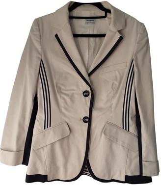 Philosophy di Alberta Ferretti Ecru Cotton Jacket for Women