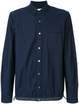 Sacai Drawstring hem shirt jacket