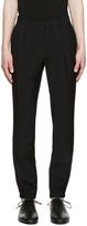 Maison Margiela Black Elasticized Cuffs Trousers