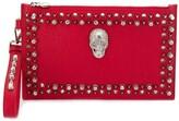Philipp Plein Studded Skull Clutch