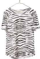 Ragdoll LA VINTAGE RAGLAN TEE White Zebra