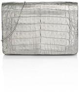 Thumbnail for your product : Nancy Gonzalez Metallic Crocodile Crossbody Bag