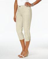 Style&Co. Style & Co Petite Slit-Hem Capri Pants, Only at Macy's