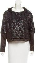 Christian Lacroix Floral Jacquard Jacket