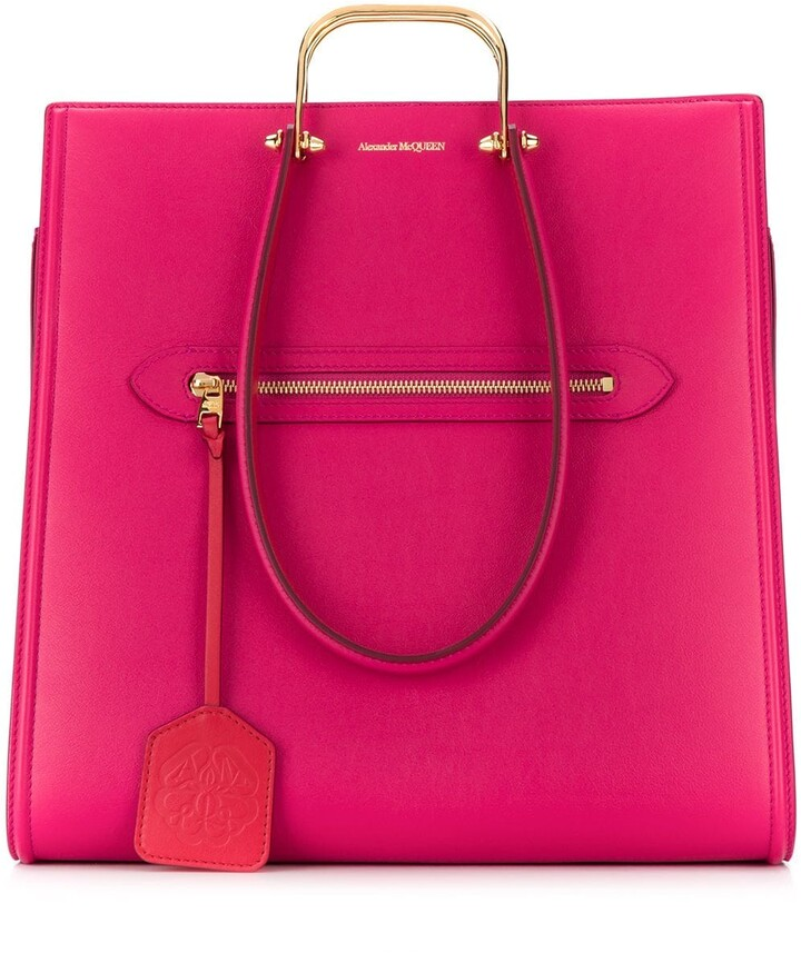 Alexander McQueen The Tall Story tote