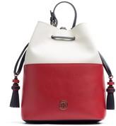Tommy Hilfiger Colorblock Leather Bucket Bag