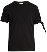 J.w.anderson Knotted-sleeve Cotton T-shirt