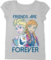 Freeze Frozen Heather Gray 'Friends Are Forever' Tee - Kids