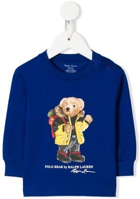 Ralph Lauren Kids teddy printed T-shirt