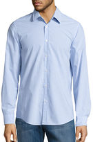 BOSS GREEN Lukas Cotton Pinstriped Sportshirt