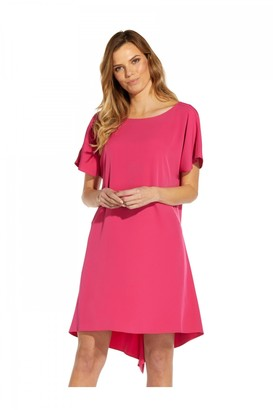 Adrianna Papell High Low Shift Dress