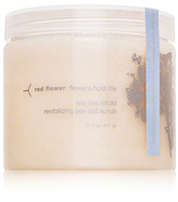 Red Flower Flowers Hold Life Isla das Rocas Revitalizing Sea Salt Scrub - Icelandic Moonflower