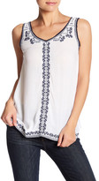 Romeo & Juliet Couture Embroidered Tank