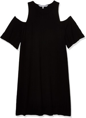 Cupcakes And Cashmere Women's Hyde Soft Knit Cold Shoulder Dress