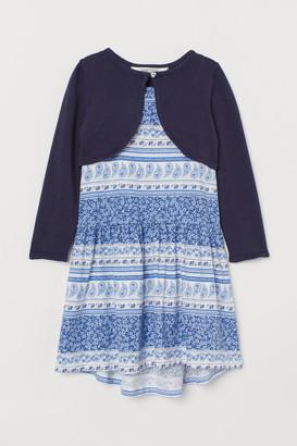 H&M 2-piece Cotton Set - Blue