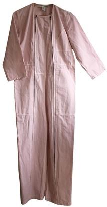 Callahan Caron Pink Cotton Jumpsuits