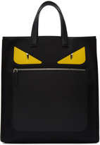 Fendi Black Nylon bag Bugs Tote