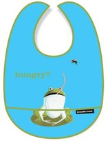Crocodile Creek Kid Bibs-Hungry Frog