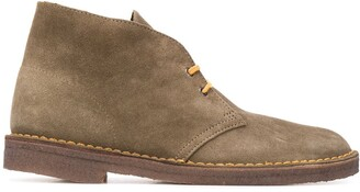 Clarks Lace-Up Desert Boots
