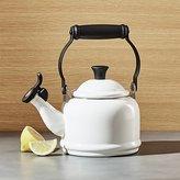 Crate & Barrel Le Creuset © 1.25-Qt. Demi White Tea Kettle